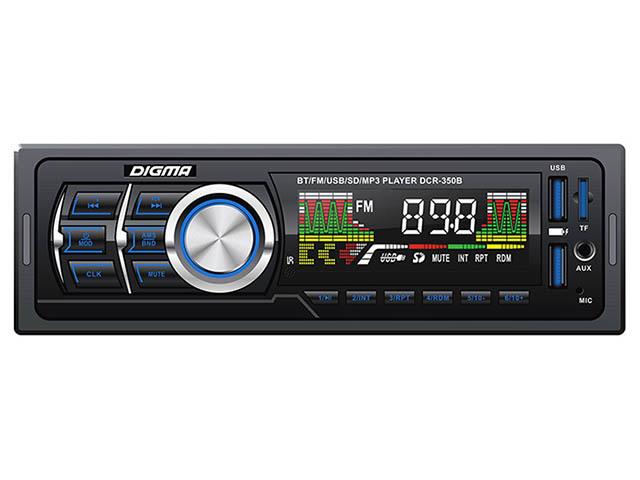 Автомагнитола Digma DCR-350B