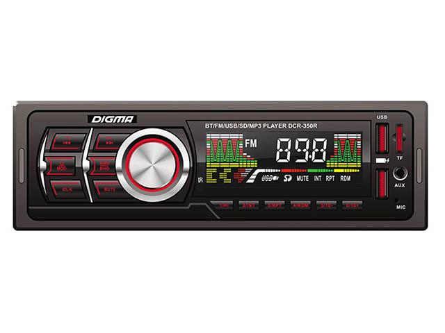 Автомагнитола Digma DCR-350R