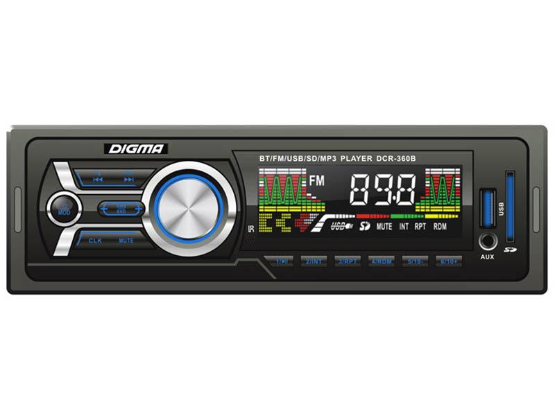 Автомагнитола Digma DCR-360B