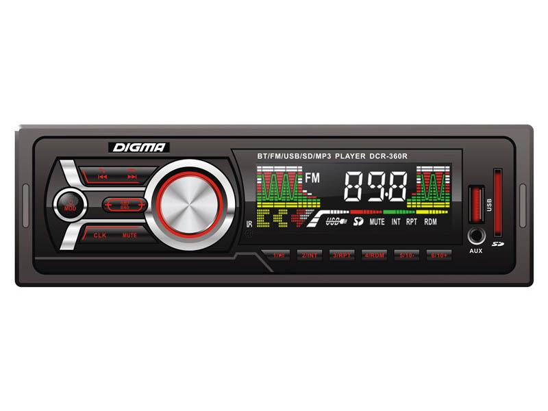 цена на Автомагнитола Digma DCR-360R