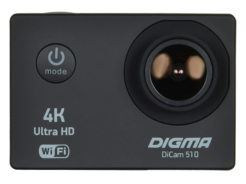 Экшн-камера Digma DiCam 510 Black