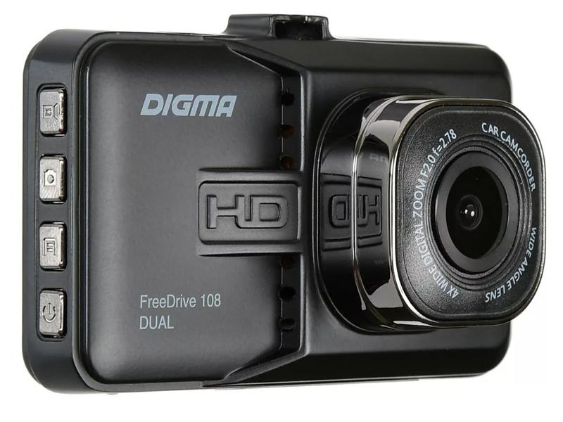 Видеорегистратор Digma FreeDrive 108 DUAL видеорегистратор digma freedrive 108 dual