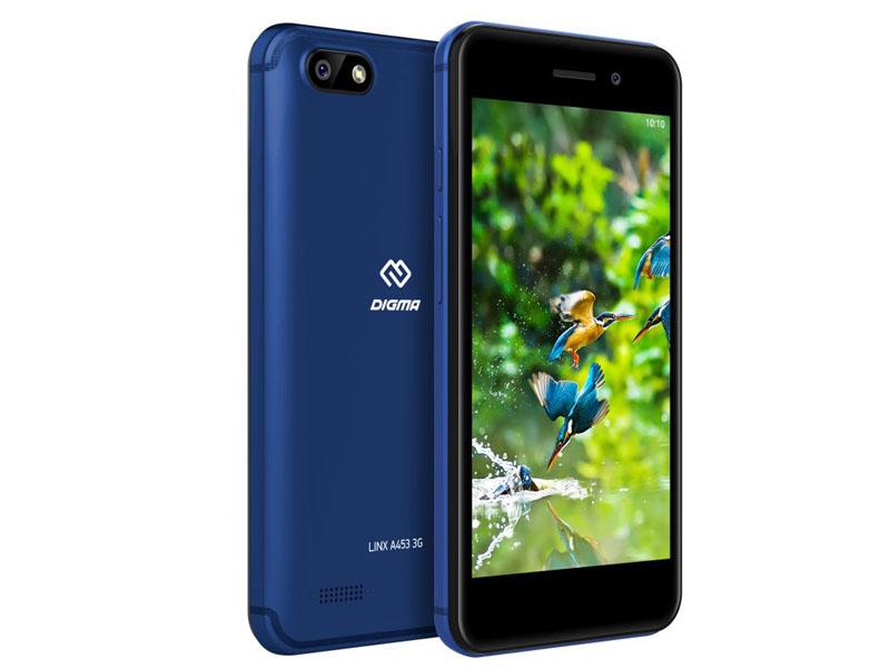 Сотовый телефон Digma LINX A453 3G Blue цена