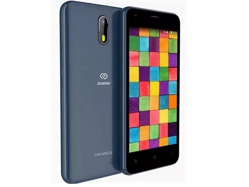 Сотовый телефон Digma LINX ARGO 3G Blue сотовый телефон digma linx pay gold