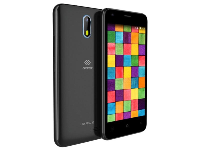 Сотовый телефон Digma LINX ARGO 3G Black