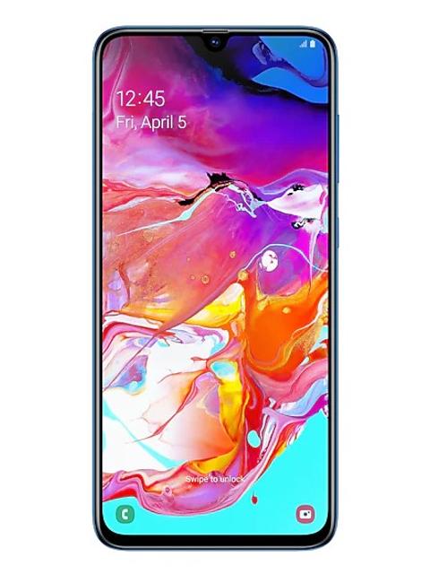 Сотовый телефон Samsung Galaxy A70 Blue