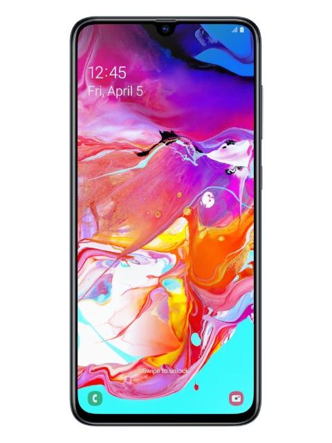 Сотовый телефон Samsung Galaxy A70 Black