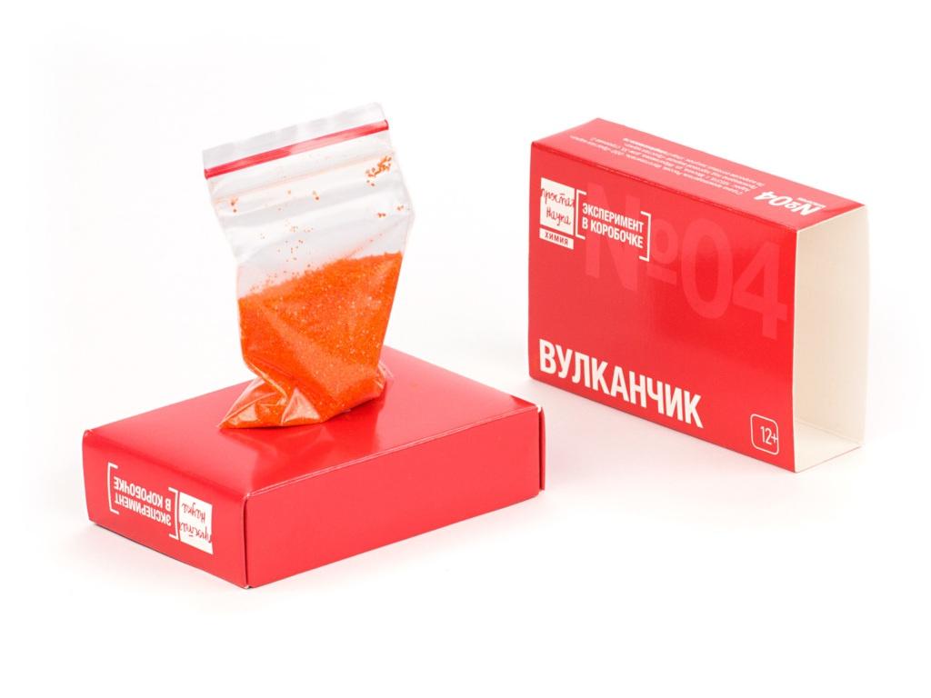 Игра Простая наука Эксперимент в коробочке Вулканчик 0304