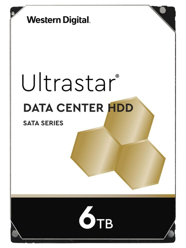 Жесткий диск Western Digital Ultrastar DC HC310 6Tb HUS726T6TALE6L4 / 0B36039