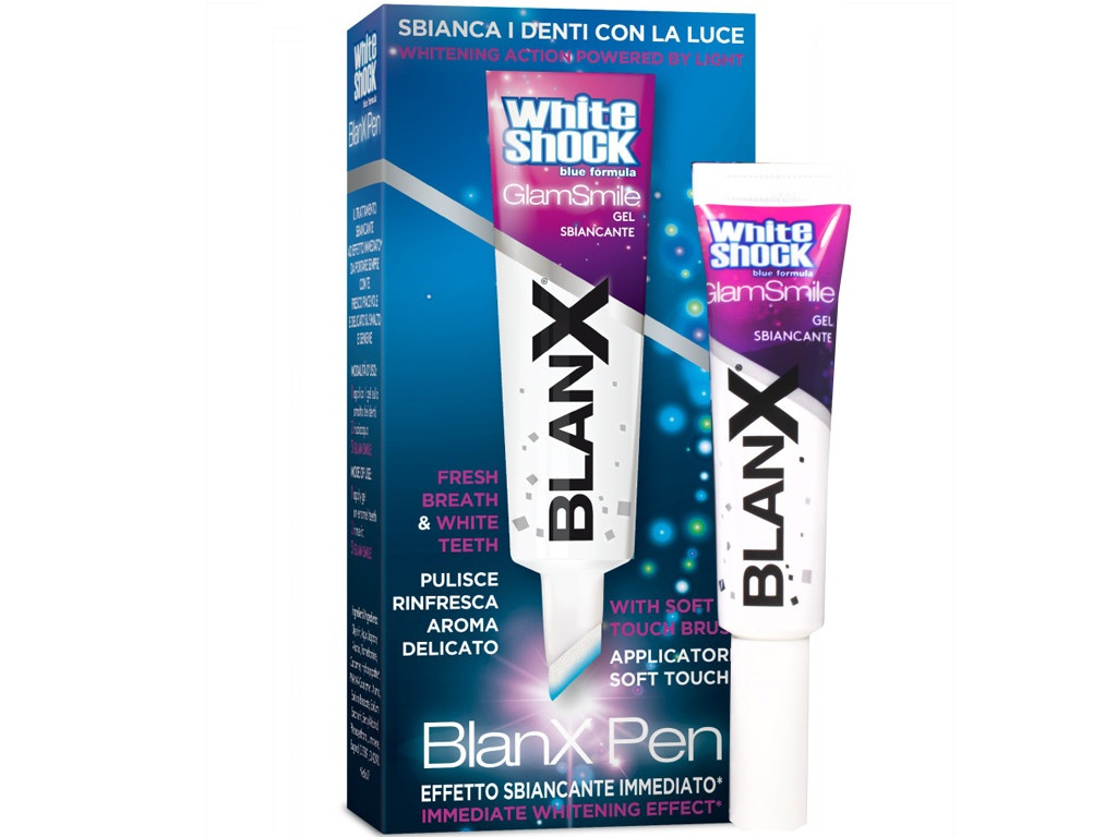 BlanX White Shock Glam Smile Gel Pen, Отбеливающий гель - карандаш GA1004100/GA1136306/GA1319300