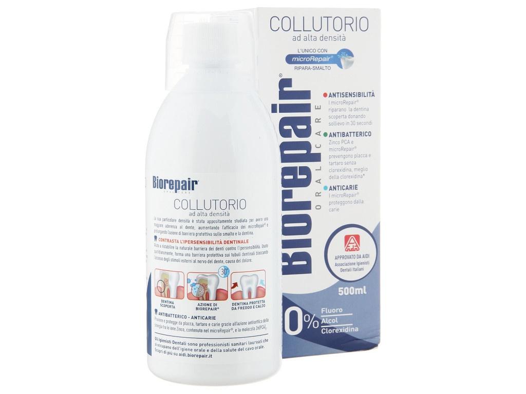 Ополаскиватель для полости рта Biorepair Mouthwash Antibacteria 500ml GA1154700/GA1297900/1428900