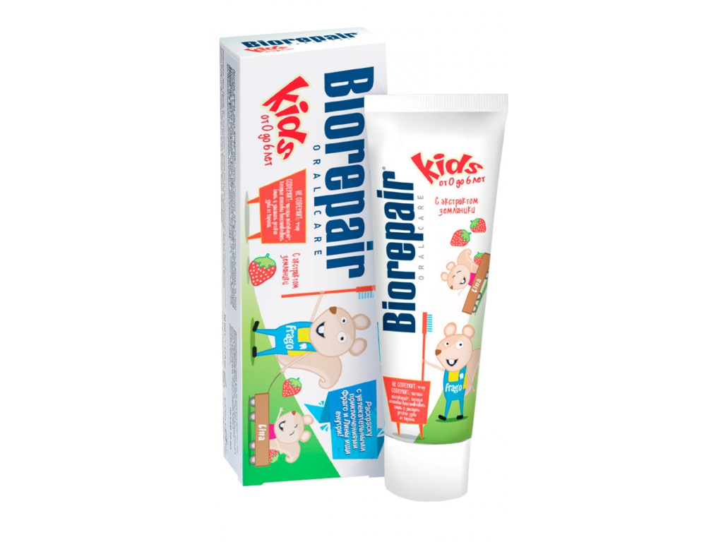 Зубная паста Biorepair Kids 50ml GA1297600/1338200/GA1408900/GA1417600