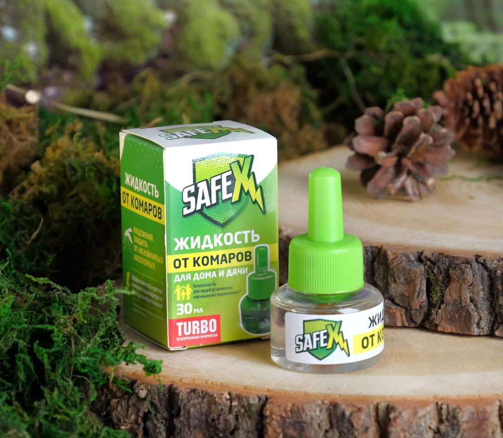 Средство защиты от комаров Safex Жидкость для фумигатора 30ml 4027994
