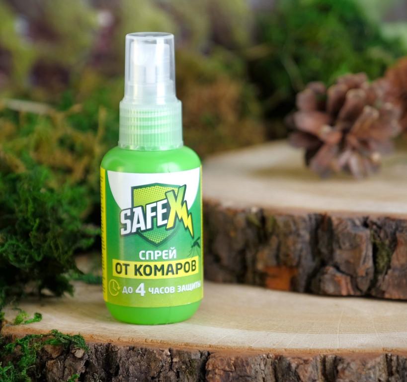 Средство защиты от комаров Safex Спрей 50ml 4066433