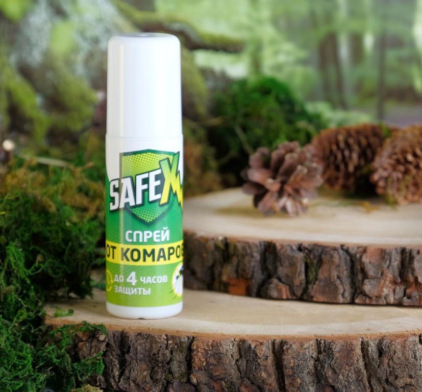 Средство защиты от комаров Safex Спрей 100ml 4066434