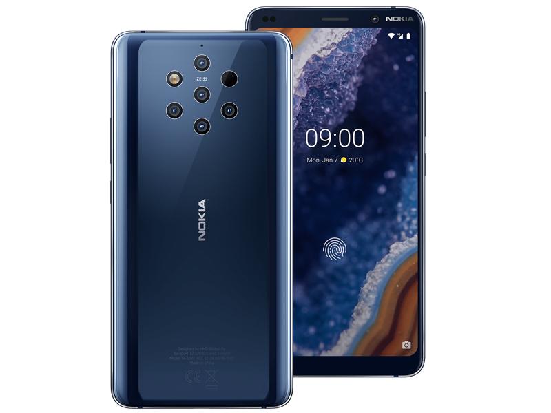 Сотовый телефон Nokia 9 PureView Blue