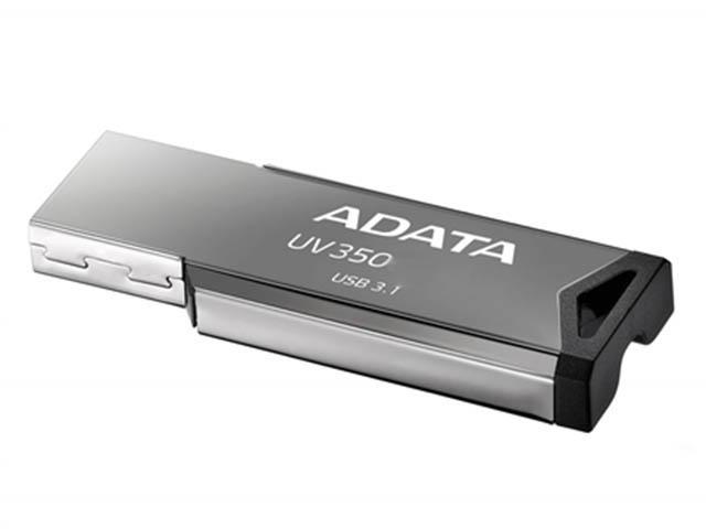 USB Flash Drive 16Gb - A-Data UV350 Black AUV350-16G-RBK