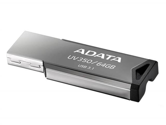 USB Flash Drive 64Gb - A-Data UV350 Black AUV350-64G-RBK