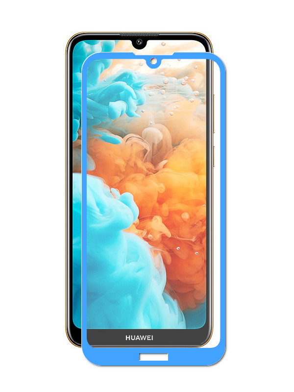 Аксессуар Защитное стекло Red Line для Huawei Y7 2019 Full Screen Tempered Glass Full Glue Blue УТ000017795 цена и фото