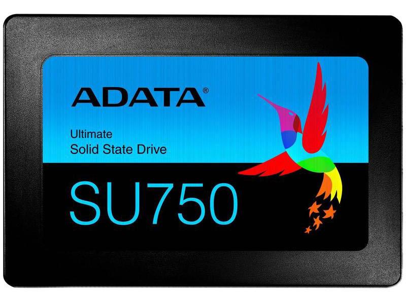 Жесткий диск A-Data SU750SS 256Gb Black ASU750SS-256GT-C