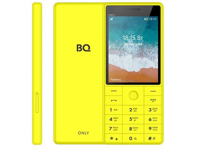 Сотовый телефон BQ 2815 Only Yellow bq 2808 telly black yellow
