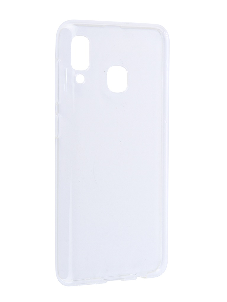 Аксессуар Чехол iBox для Samsung Galaxy A30 Crystal Transparent УТ000017403