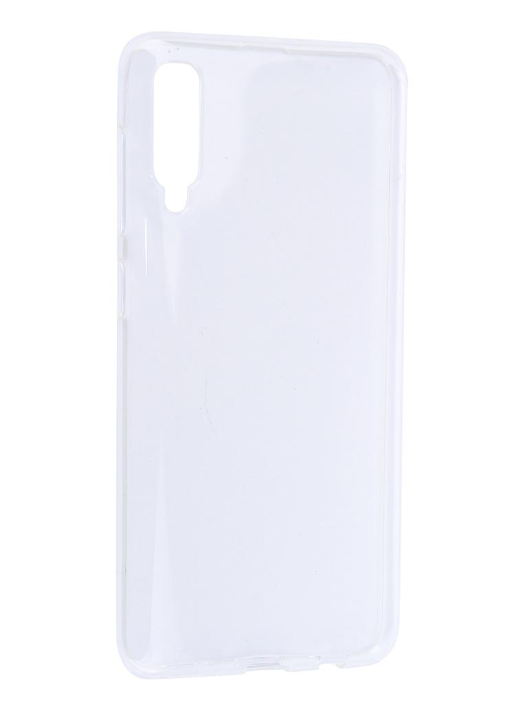 Аксессуар Чехол iBox для Samsung Galaxy A50 Crystal Transparent УТ000017404 red line ibox crystal чехол для samsung galaxy j5 2017 transparent