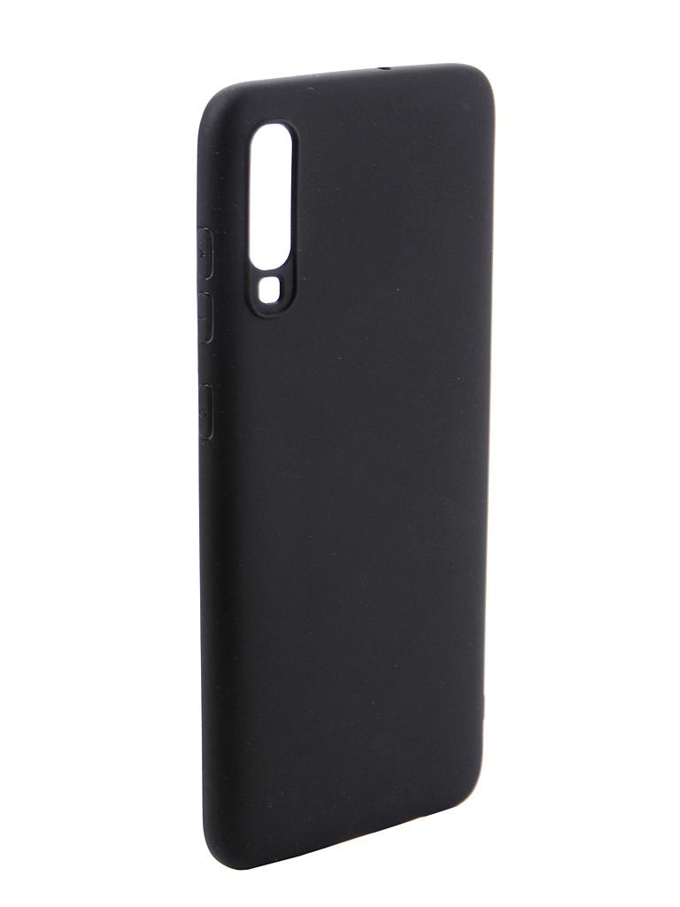 Чехол DF для Samsung Galaxy A70 Silicone Super Slim sColorCase-05 Black