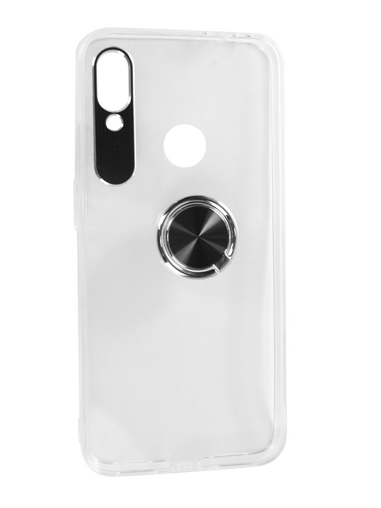 Аксессуар Чехол DF для Xiaomi Redmi Note 7/Note 7 Pro Plastic + Silicone с кольцом-держателем Black xiTRing-01 аксессуар df czebra 01 blue black