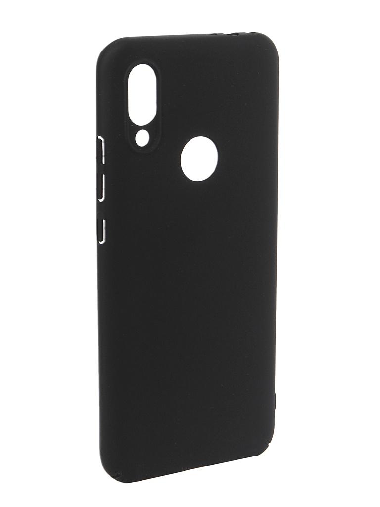 Аксессуар Чехол DF для Xiaomi Redmi 7 Soft-Touch Black xiSlim-06