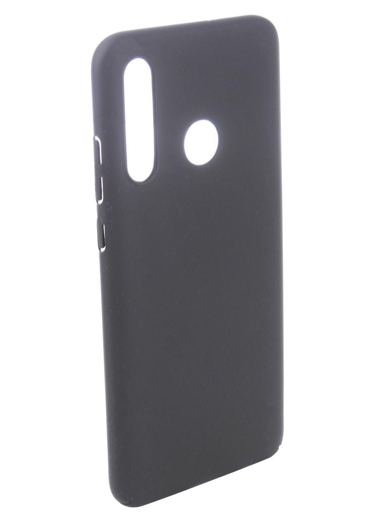 Чехол DF для Honor 10i Soft-Touch Black hwSlim-10