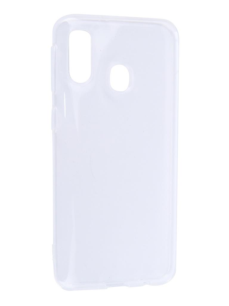 Чехол DF для Samsung Galaxy A40 Silicone Super Slim Transparent sCase-77 стоимость
