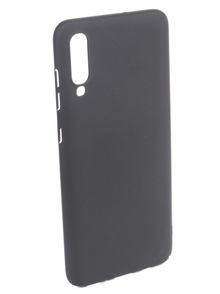 Аксессуар Чехол DF для Samsung Galaxy A70 Soft-Touch Black sSlim-36 цена и фото