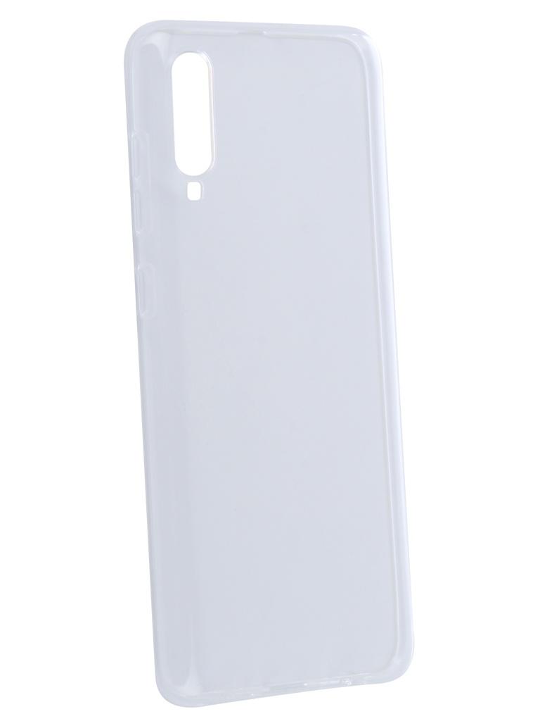 Чехол DF для Samsung Galaxy A70 Silicone Super Slim sCase-78 Transparent