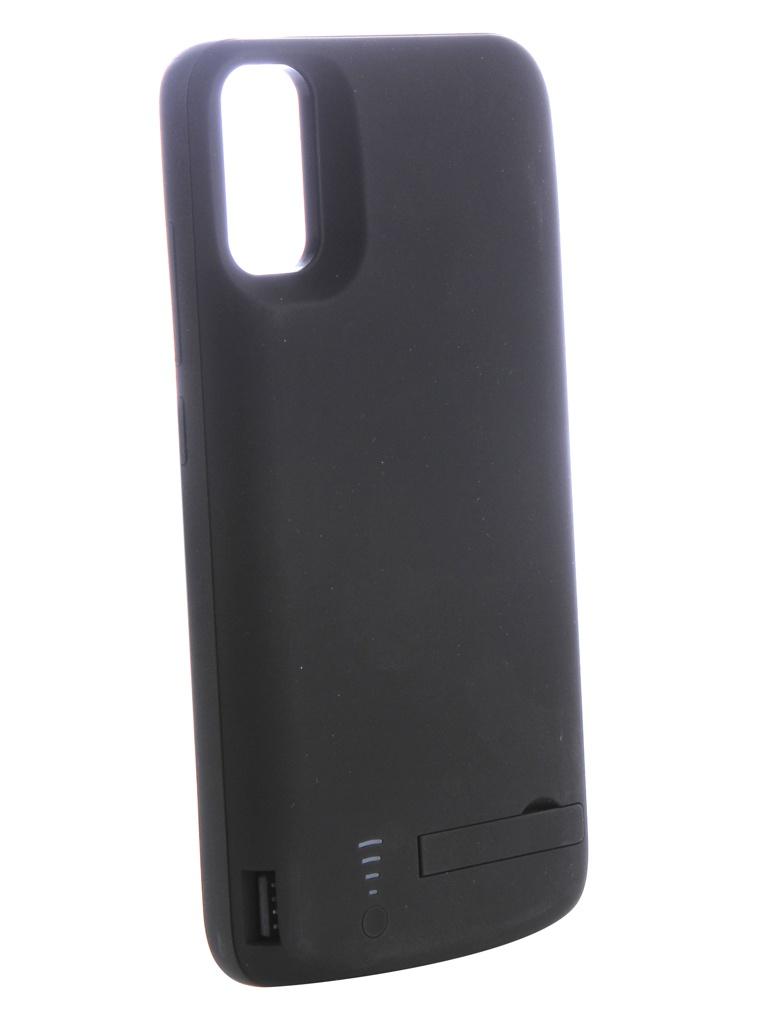 Аккумулятор-чехол DF для Xiaomi Mi 8 6000mAh Black iBattery-24