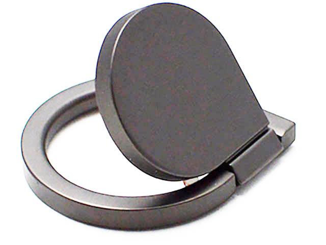 Кольцо-держатель для смартфона DF Blob-01 Grey