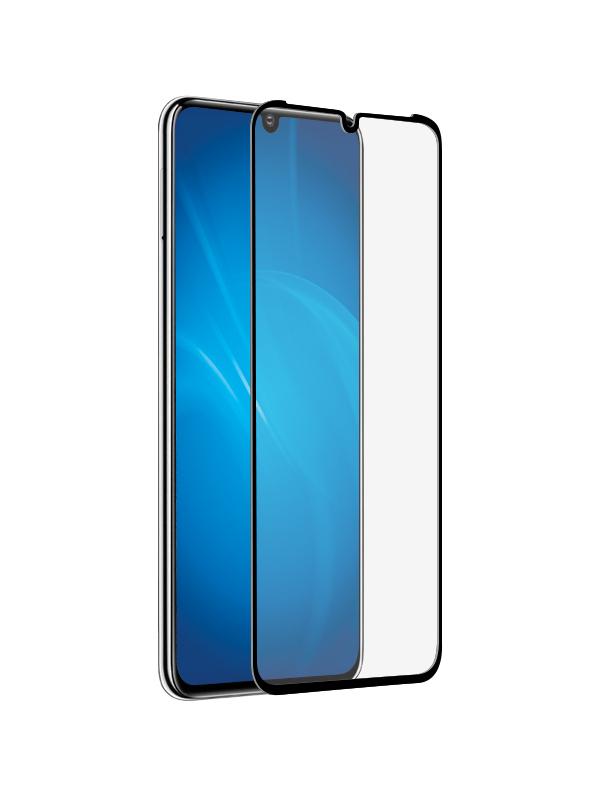 Закаленное стекло DF для Huawei P30 Full Screen+ Glue hwColor-98 Black