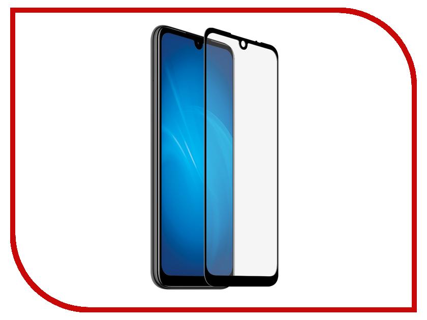 Купить Аксессуар Закаленное стекло DF Full Screen+ Fullglue для Xiaomi Redmi 7 xiColor-56 Black, DF-GROUP