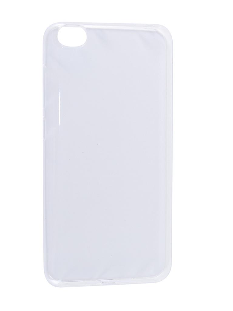 Аксессуар Чехол Svekla для Xiaomi Redmi GO Silicone Transparent SV-XIREDGO-WH