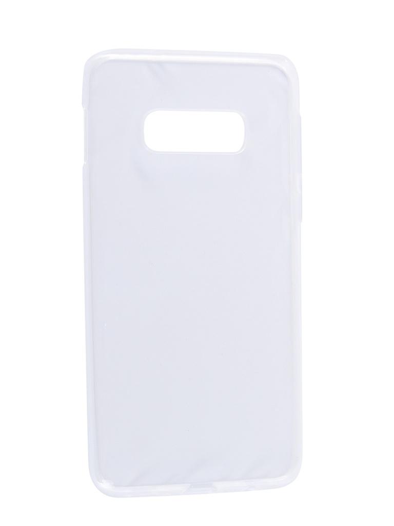 Аксессуар Чехол Svekla для Samsung S10E Silicone Transparent SV-SGS10E-WH