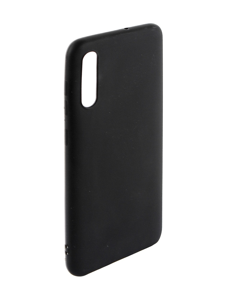 Аксессуар Чехол Svekla для Samsung A50 A505FD Silicone Black SV-SGA505FD-MBL
