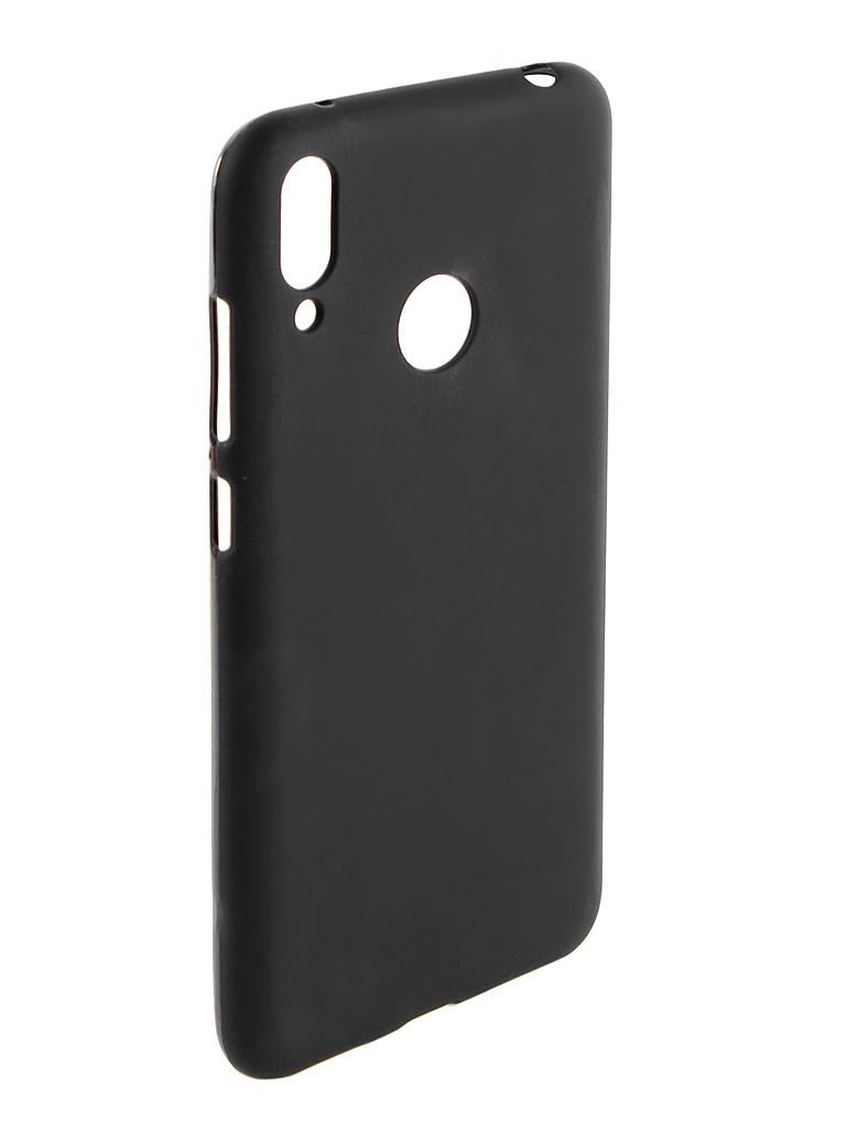 Аксессуар Чехол Svekla для Huawei Y7 2019 Silicone Black SV-HWY72019-MBL
