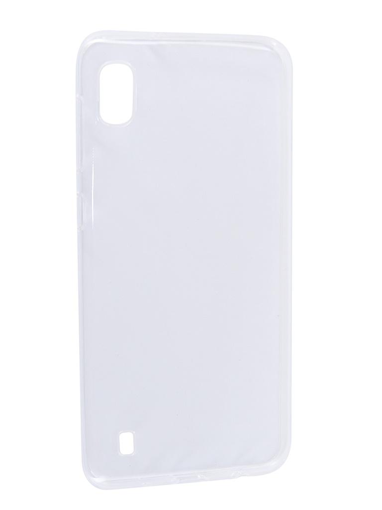 Аксессуар Чехол Svekla для Samsung A10 A105FD Silicone Transparent SV-SGA105FD-WH
