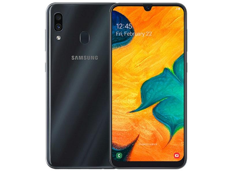 Сотовый телефон Samsung Galaxy A30 64GB Black