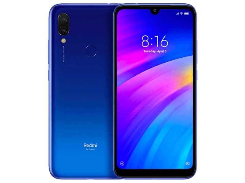 Сотовый телефон Xiaomi Redmi 7 2Gb RAM 16Gb Blue смартфон xiaomi redmi 5 2gb 16gb gold