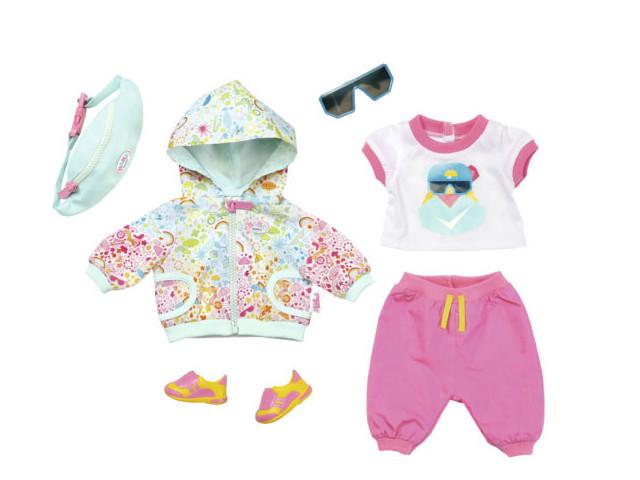 Одежда для куклы Zapf Creation Baby Born для велосипедной прогулки Делюкс 827-192 все цены
