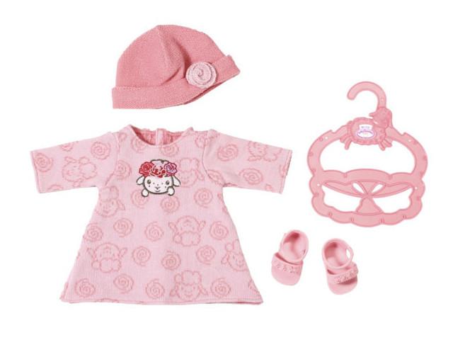 Одежда для куклы Zapf Creation My Little Baby Annabell Платье, шапочка и босоножки 701-843