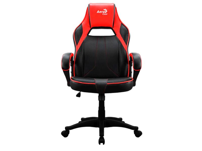 Компьютерное кресло AeroCool AC40C AIR Black-Red кресло для геймера aerocool ac40c air black red черно красное до 125 кг шxдxв 64x67x111 119см газлифт класс 3 до 100 мм механизм бабочка