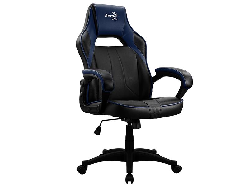 Компьютерное кресло AeroCool AC40C AIR Black-Blue