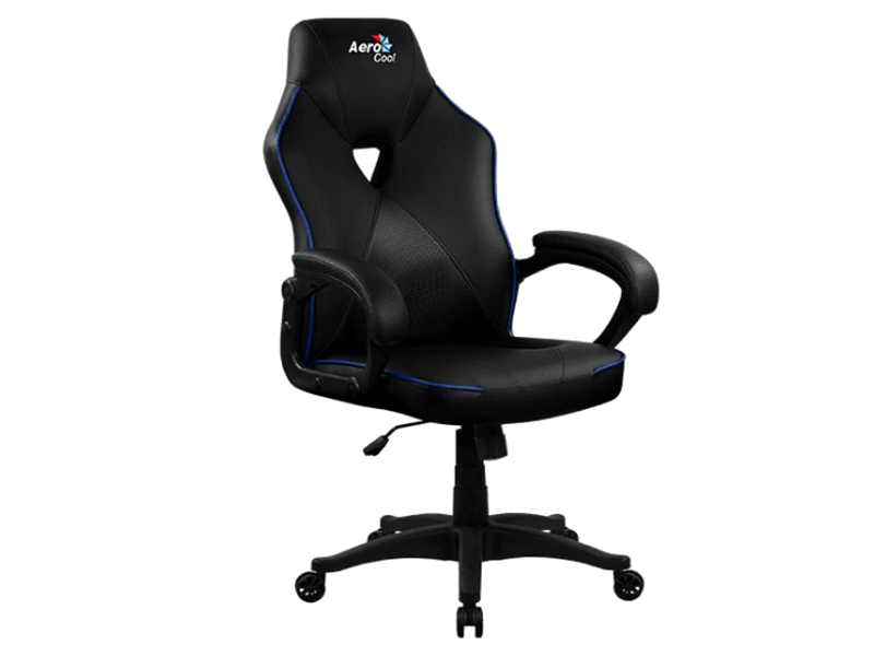Компьютерное кресло AeroCool AC50C AIR Black-Blue